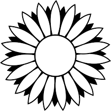 sunflower coloring pages free coloring pages 16653