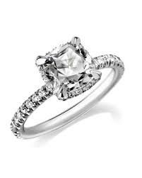 Diamond Cushion Cut Ring Get The Look Celebrity Inspired Engagement Rings Martha Stewart