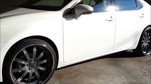 2007 lexus gs 350 tires 2013 lexus es350 staggered 22s youtube