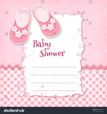 baby shower card vector illustration stock vector 265645298