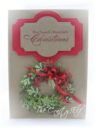 the crafty elf a christmas wreath