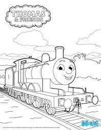 thomas coloring pages emily printable train tank engine christmas