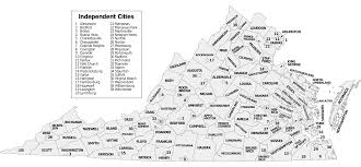 Virginia Map by Map Of Virginia Map Counties Worldofmaps Net Online Maps And