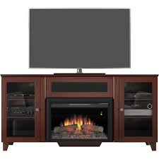 stylish electric fireplace tv stand crowdbuild for