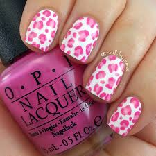 pink cheetah print nails designs ideas 20 photos