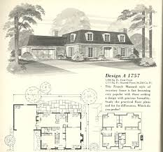french floor plans vintage house plans french mansards 5 antique alter ego