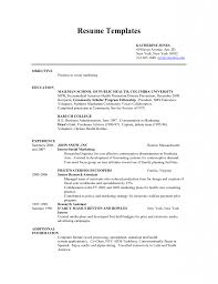 An Effective Chronological Resume Sample Teenage Resume Examples Example Resume And Resume Objective Examples