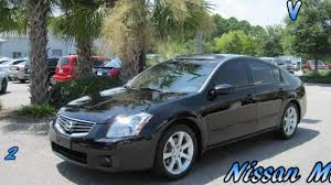 2004 nissan sentra jdm maxima 2008 nissan maxima se leather sunroof spoiler clean youtube