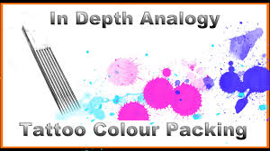 tattoo colour mp3 tattoo colour packing in depth analogy youtube