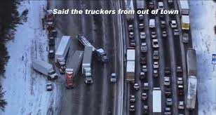 Atlanta Snow Meme - watch out for atlanta drivers they can t handle 1 inch of snow