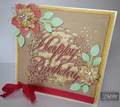 create a card crafter s companion create a card die happy birthday card ideas