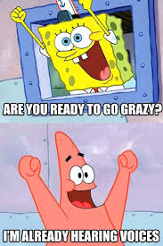 times we could relate to spongebob squarepants during finals her