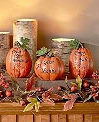 pumpkin table centerpiece bowl set thanksgiving
