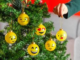 spralla smileychristmas tree balls 6 pack coolstuff