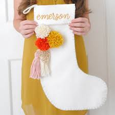 a new bloom design food style diy diy felt stockings with