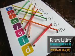 cursive worksheets cursive letters