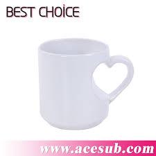 Heart Shaped Mug Sublimation Mugs Sublimation Cups