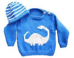 knitting pattern dinosaur jumper baby dinosaur sweater and hat aran sweater and hat diplodocus baby