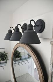farmhouse bathroom lighting ideas best choice of bathroom diy farmhouse vanity light fixture in