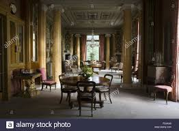 the morning room at arlington court devon the room is 70 feet