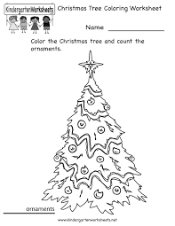 christmas english worksheets for kindergarten printable cut and