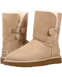 ugg bailey bow damen sale amazing deal on ugg bailey button ii sand s boots