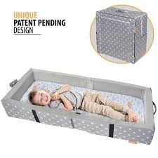 travel bed for toddler images Milliard portable toddler bumper bed folds for travel jpg