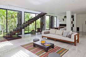 Garden Inside House by Beautiful Modern Yard Design Full Imagas Grey Wall With White
