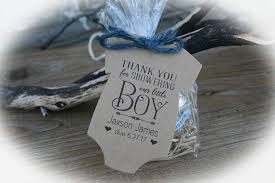 boy baby shower favors boy baby shower favor tags or kits 3 tag colors boy baby