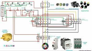 forward reversing starter wiring diagrams electrical forward