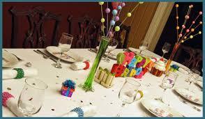 unique birthday centerpieces theme dinner decorations