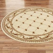 Polypropylene Area Rug Attractive Round Area Rugs Brown Floral Round Rug Polypropylene