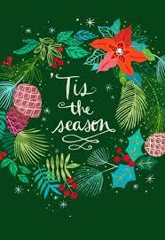 christmas card tis the season festive wreath christmas card greeting cards hallmark