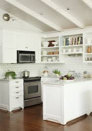 peninsula island kitchen kitchen with open shelving transitional kitchen hill