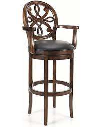 Swivel Bar Stool With Arms Captivating Frontgate Swivel Bar Stools 37 In Home Pictures With