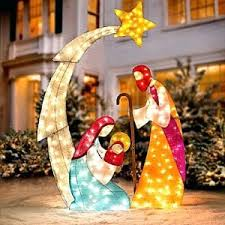 outdoor lighted ornaments 75019 loffel co