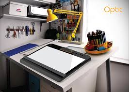 Lighted Drafting Table Optic Portable Tracing And Light Table Contains Both A Top And