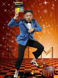 Gangnam Style Meme - kim jong un gangnam style meme greeting cards by memesense redbubble