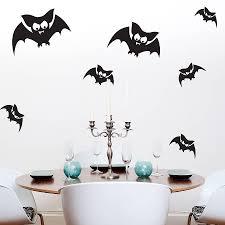 halloween bat wall decals halloween wall stickers wall art kids
