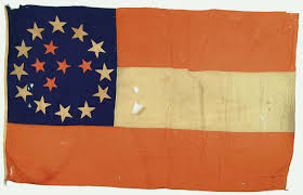 Different Confederate Flags Extremely Rare Confederate Indian Treaty Flag Or Battle Flag