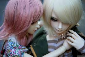 dolls couple hd wallpaper