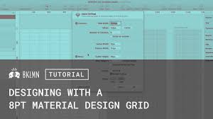 tutorial 8pt grids layout u0026 material design gui templates youtube