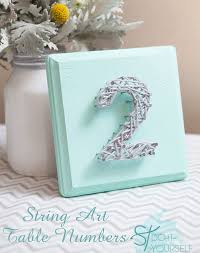 table numbers wedding top 10 diy wedding table number ideas with tutorials