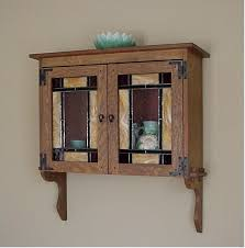 Arts And Crafts Cabinet Doors Mission Oak Wall Cabinet Arts Crafts Furniture Pinterest