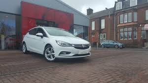 used 2016 vauxhall astra sri nav for sale in dumfriesshire