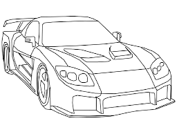 outline drawing of drift cars free download clip art free clip