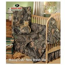 amazon com mossy oak new break up camo 6 piece crib set