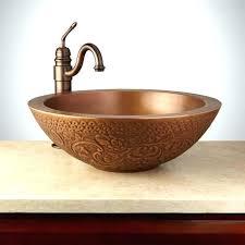 copper vessel sinks ebay copper vessel sinks amazing vessel bathroom sinks copper vessel
