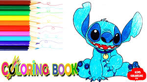 lilo stitch coloring pages learn stitch colouring