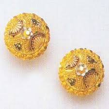 gold earrings price in sri lanka designer gold earings gold earrings manufacturer from new delhi